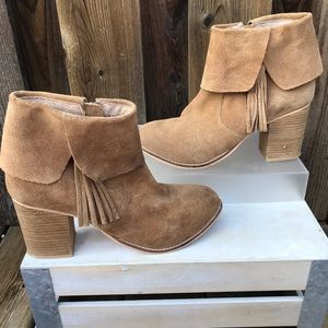 """Coconuts by Matisse Leather """"Kim"""" Booties"""